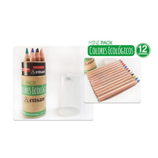 Colores ecológicos artisan x 12 mini pack - tintas y trazos