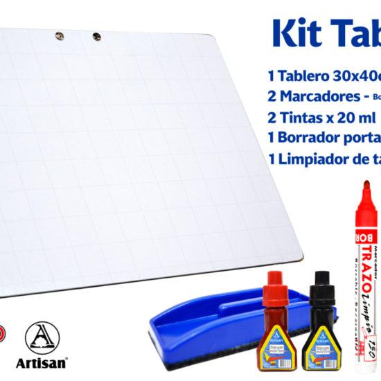 kit tablero 1 - artisan trazo limpio