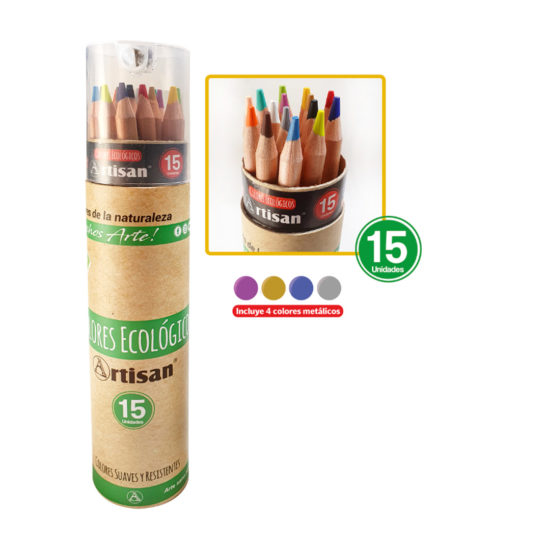 Colores ecológicos artisan x 15- tintas y trazos