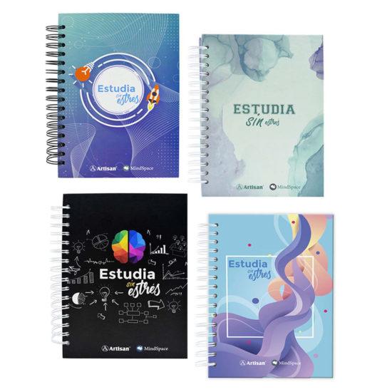 Cuadernos estudia sin estres - Artisan tintas y trazos