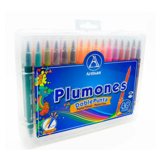 Plumones doble punta - Artisan tintas y trazos